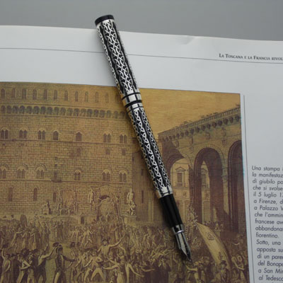 PENNA STYLO SHEFFIELD DECORO INTRECCIO